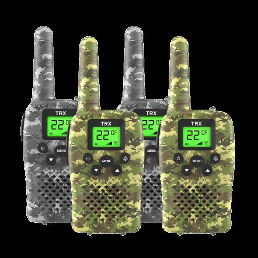 0.5 WATT COMPACT UHF CB RADIO - CAMO 4 PACK