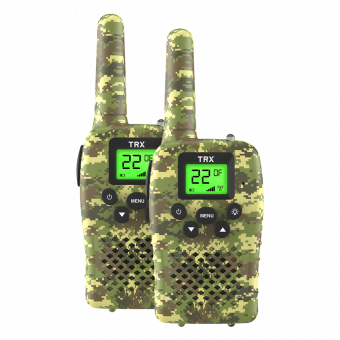 0.5 WATT COMPACT UHF CB RADIO - CAMO TWIN PACK