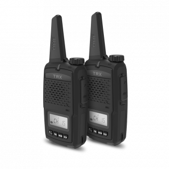 2 WATT UHF CB RADIO TWIN PACK